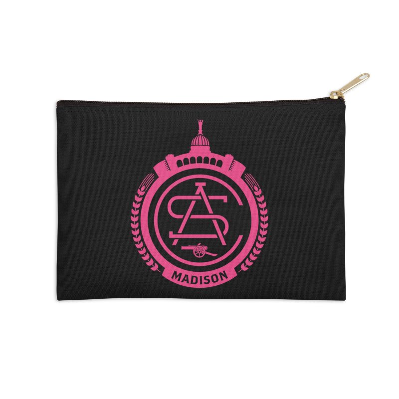 ASC Madison Terrace - 17-18 Third Strip Accessories Zip Pouch by ASC Madison