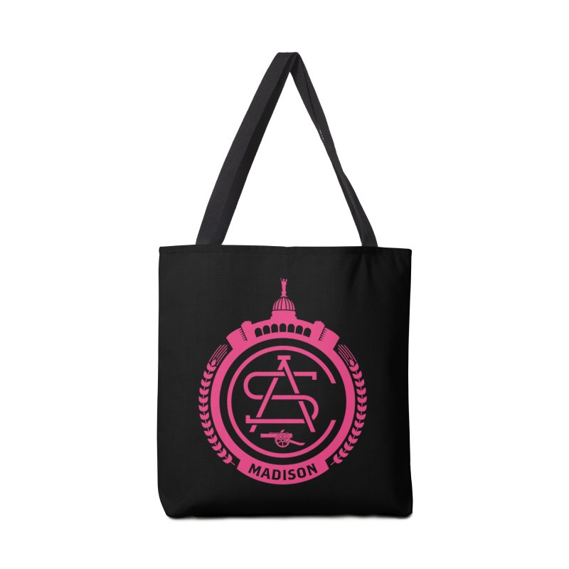 ASC Madison Terrace - 17-18 Third Strip Accessories Tote Bag Bag by ASC Madison