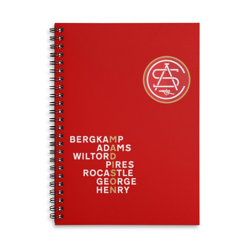 ASC Madison Legends Accessories Lined Spiral Notebook by ASC Madison