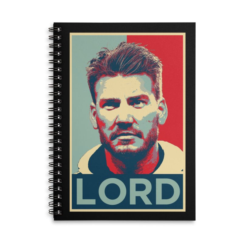 LORD Accessories Lined Spiral Notebook by ASC Madison