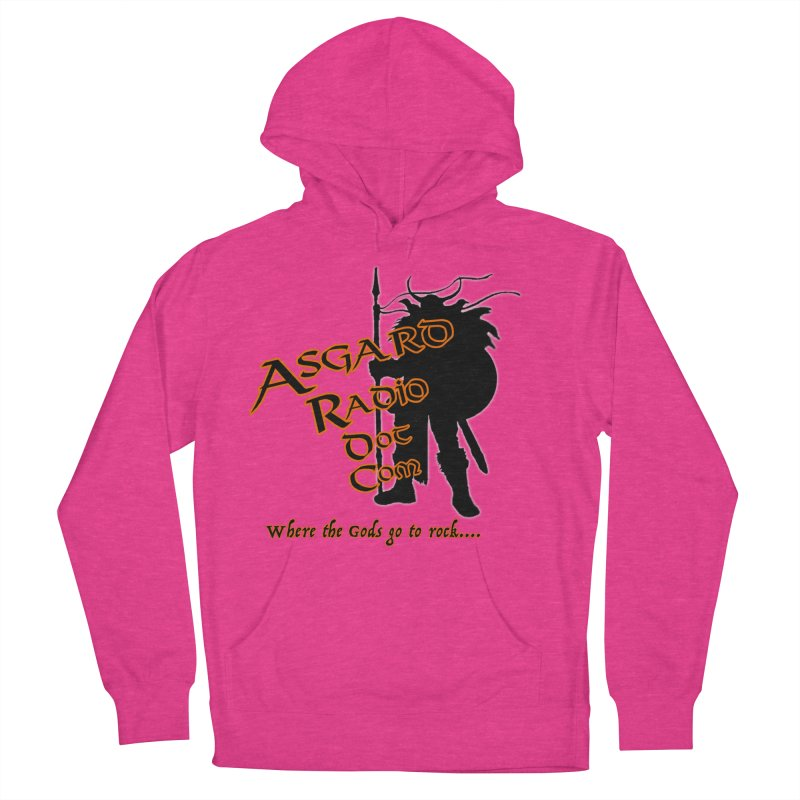 New Asgard Radio Merch Women's French Terry Pullover Hoody by Asgard Radio's Artist Shop