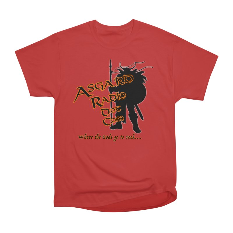 New Asgard Radio Merch Women's Heavyweight Unisex T-Shirt by Asgard Radio's Artist Shop