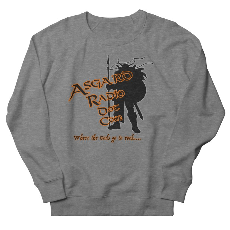 New Asgard Radio Merch Women's French Terry Sweatshirt by Asgard Radio's Artist Shop