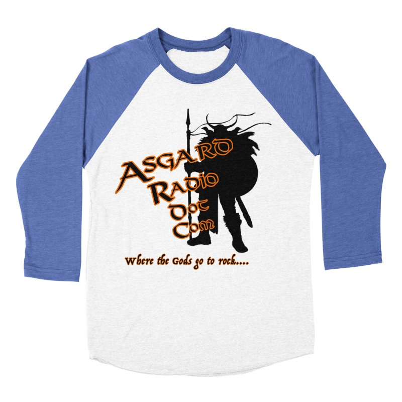 New Asgard Radio Merch Men's Baseball Triblend Longsleeve T-Shirt by Asgard Radio's Artist Shop
