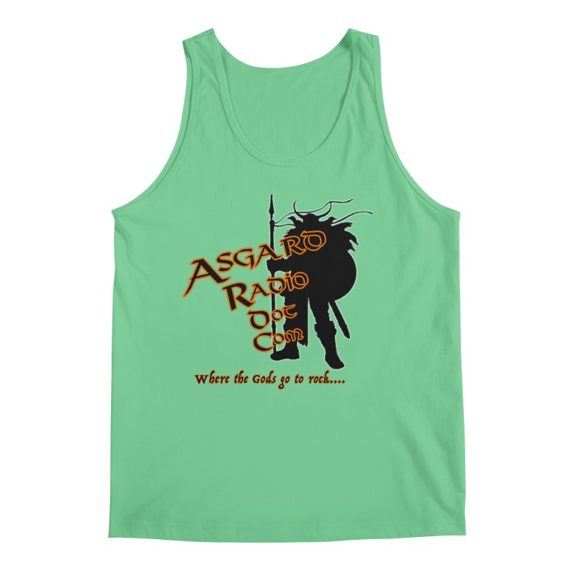 New Asgard Radio Merch Men's Regular Tank by Asgard Radio's Artist Shop