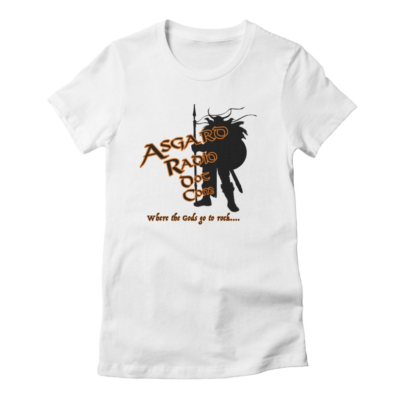 New Asgard Radio Merch Women's Fitted T-Shirt by Asgard Radio's Artist Shop
