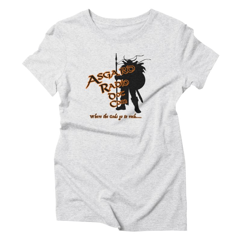New Asgard Radio Merch Women's Triblend T-Shirt by Asgard Radio's Artist Shop