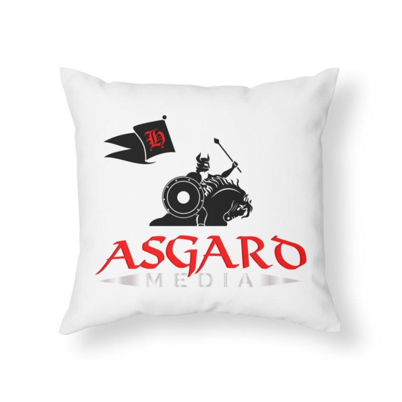 Asgard Media Home Throw Pillow by Asgard Radio's Artist Shop