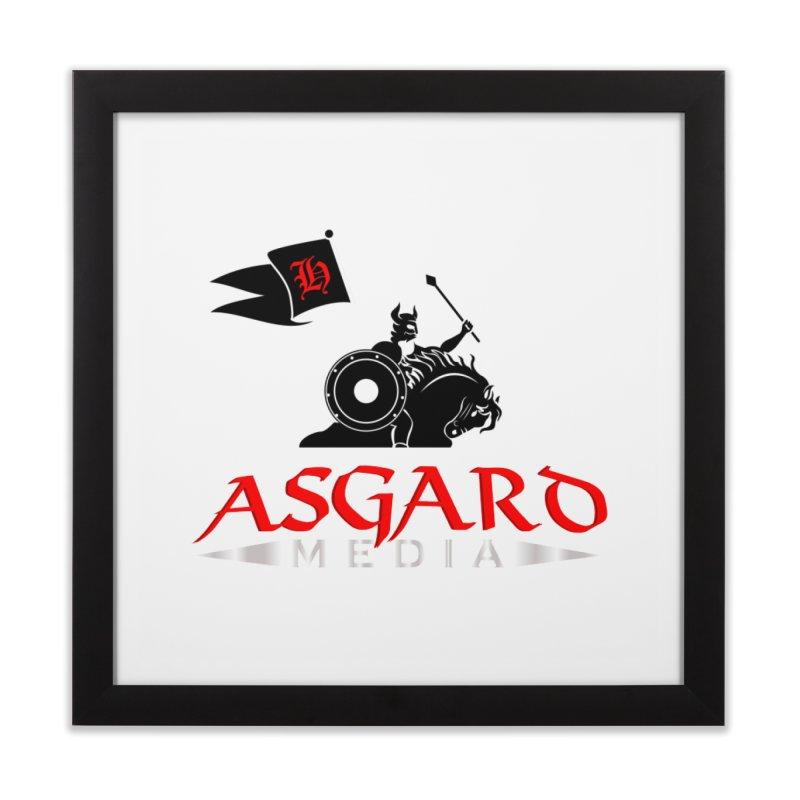 Asgard Media Home Framed Fine Art Print by Asgard Radio's Artist Shop