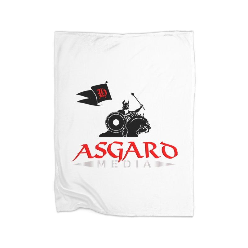 Asgard Media Home Fleece Blanket Blanket by Asgard Radio's Artist Shop