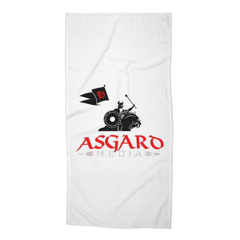 Asgard Media Accessories Beach Towel by Asgard Radio's Artist Shop