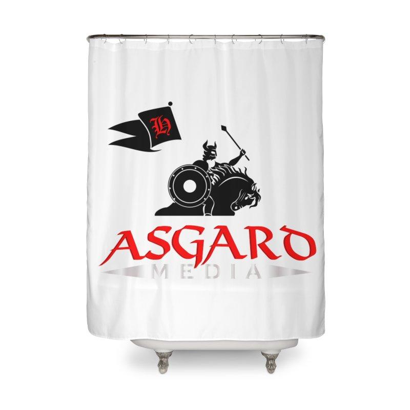 Asgard Media Home Shower Curtain by Asgard Radio's Artist Shop