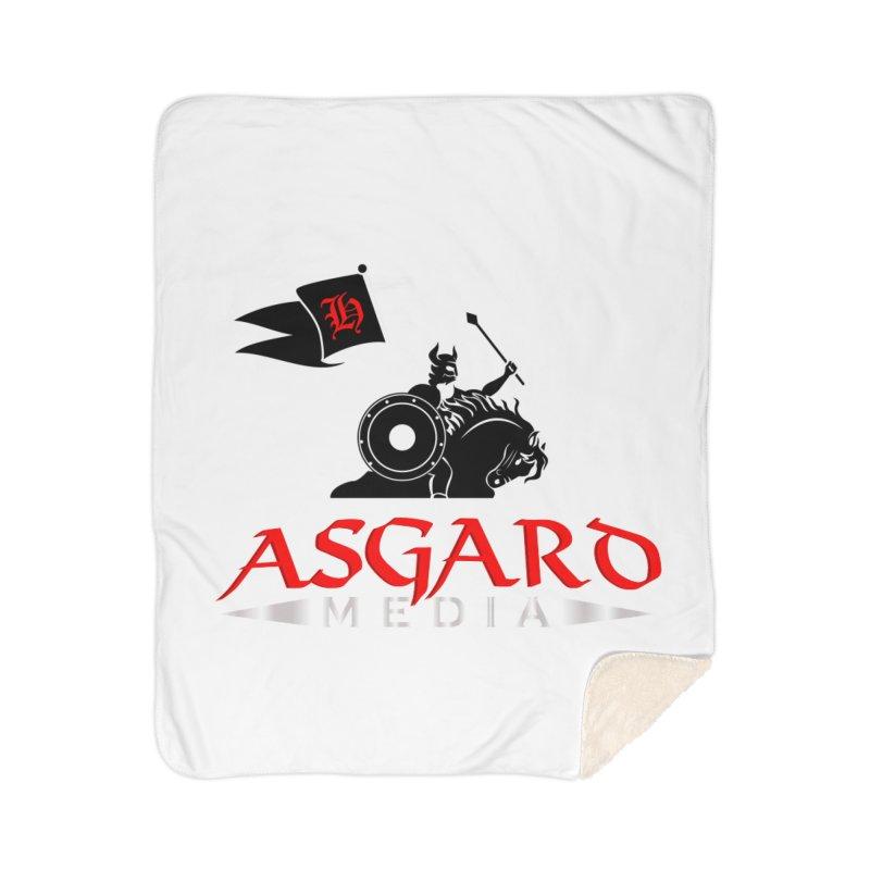Asgard Media Home Sherpa Blanket Blanket by Asgard Radio's Artist Shop