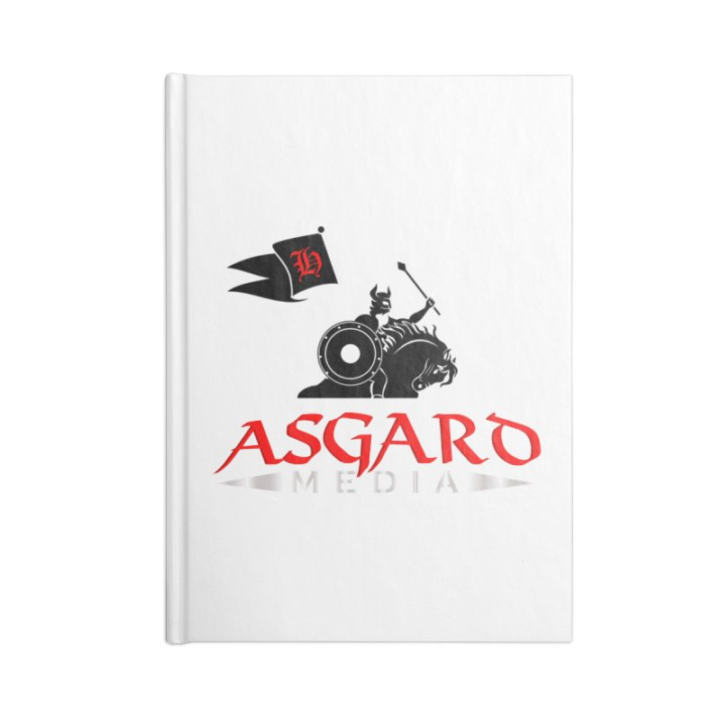 Asgard Media Accessories Lined Journal Notebook by Asgard Radio's Artist Shop