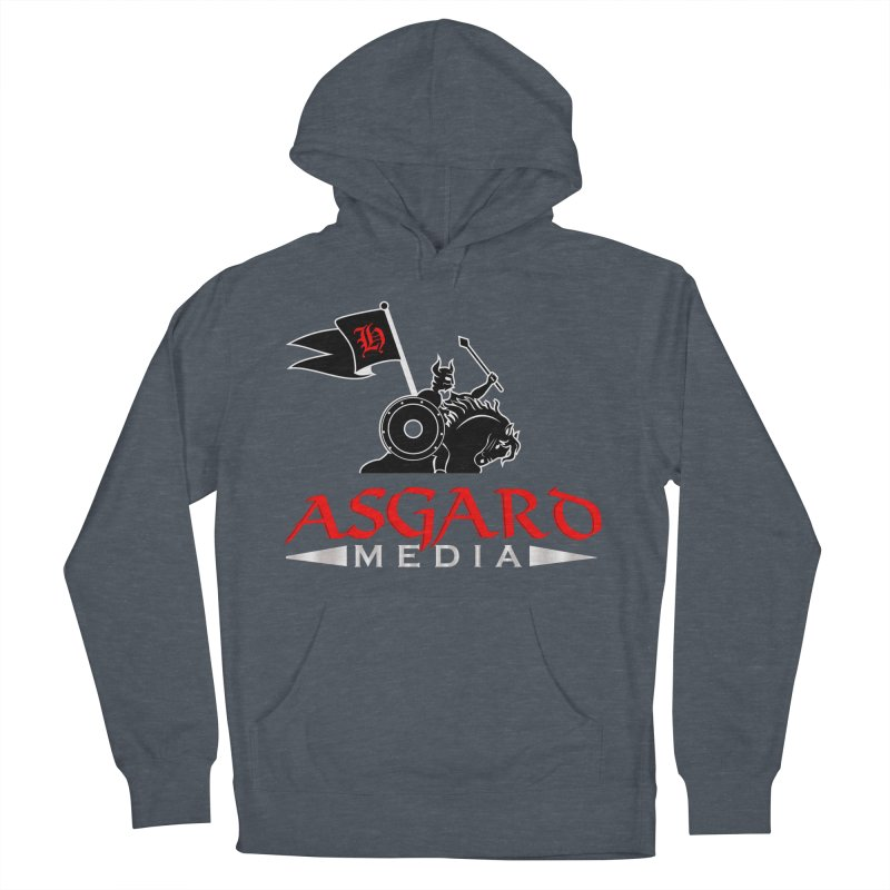 Asgard Media Women's French Terry Pullover Hoody by Asgard Radio's Artist Shop