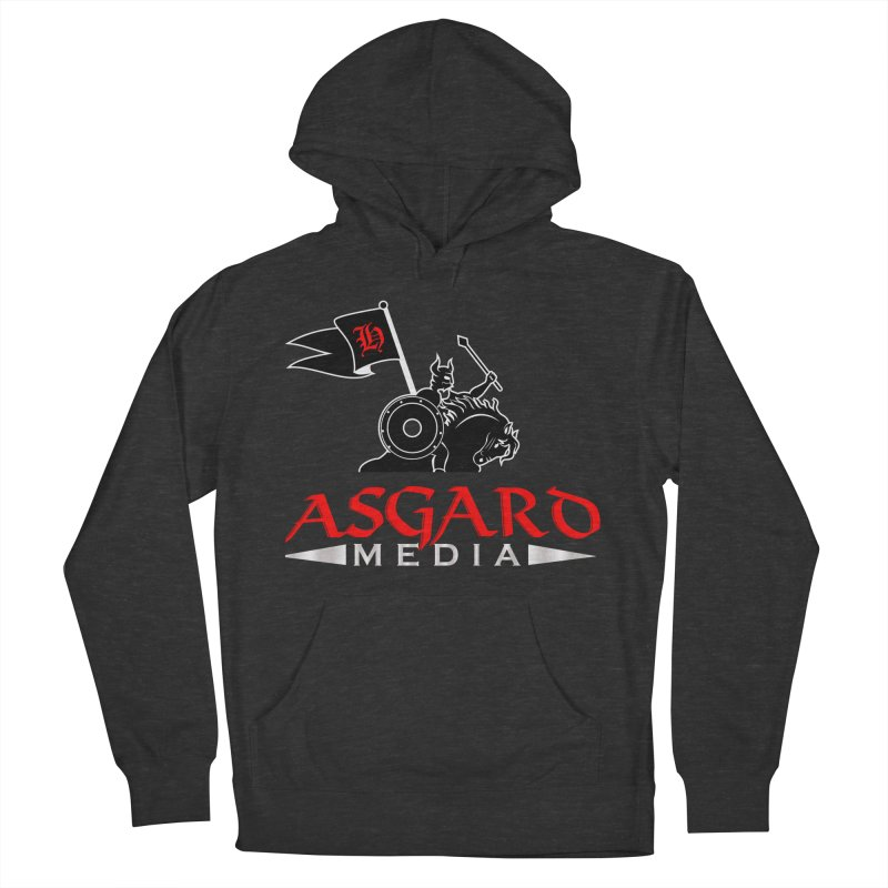 Asgard Media Men's French Terry Pullover Hoody by Asgard Radio's Artist Shop