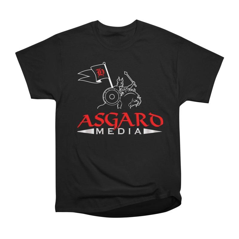 Asgard Media Women's Heavyweight Unisex T-Shirt by Asgard Radio's Artist Shop