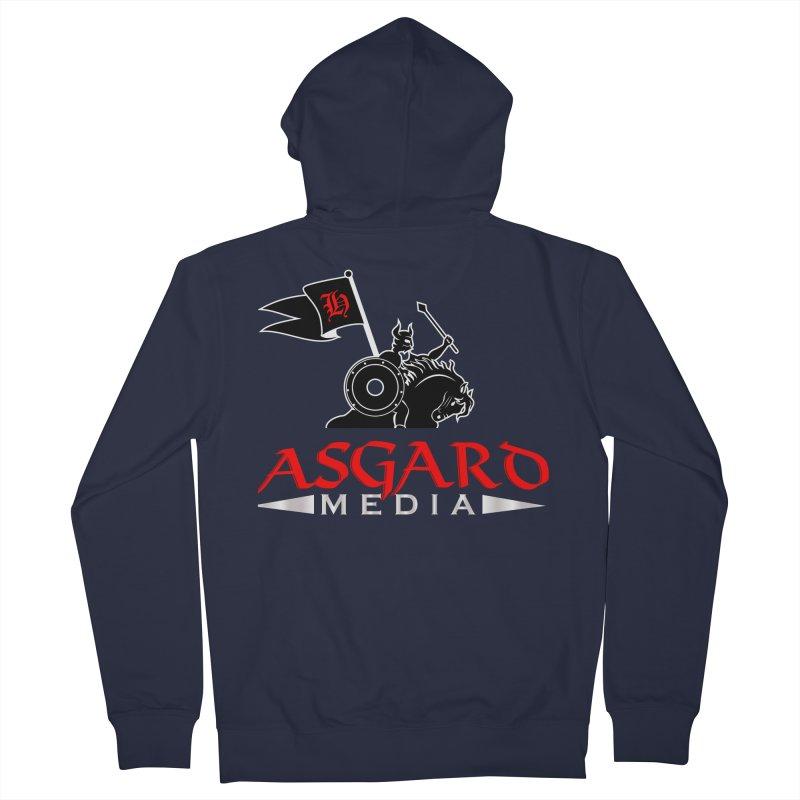 Asgard Media Women's French Terry Zip-Up Hoody by Asgard Radio's Artist Shop