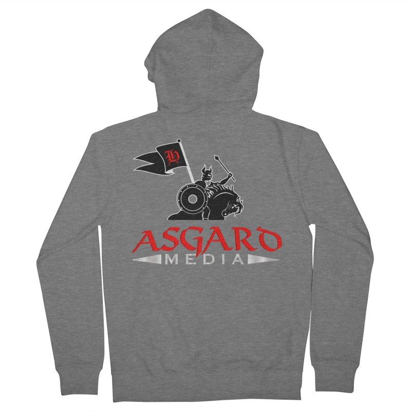 Asgard Media Men's French Terry Zip-Up Hoody by Asgard Radio's Artist Shop