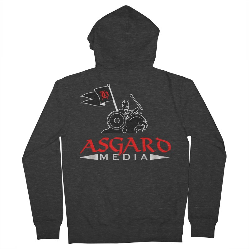 Asgard Media Men's French Terry Zip-Up Hoody by Asgard Radio's Artist Shop