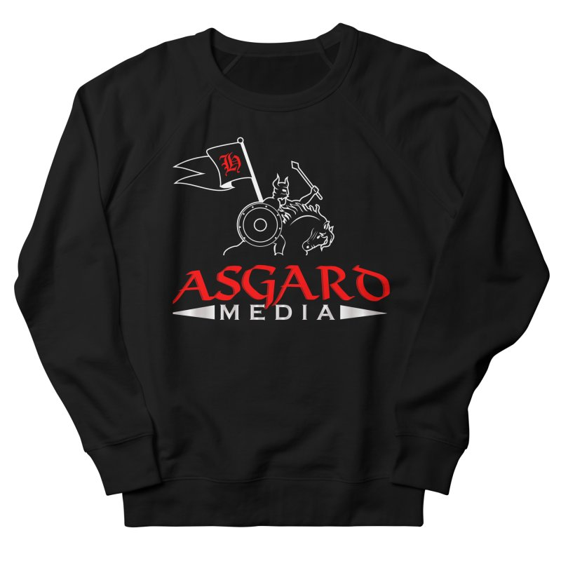 Asgard Media Women's French Terry Sweatshirt by Asgard Radio's Artist Shop