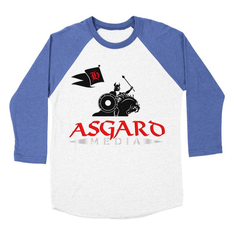 Asgard Media Women's Baseball Triblend Longsleeve T-Shirt by Asgard Radio's Artist Shop