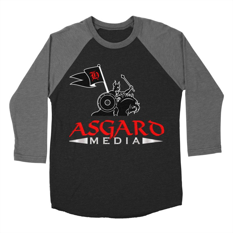 Asgard Media Women's Baseball Triblend Longsleeve T-Shirt by Asgard Radio's Artist Shop