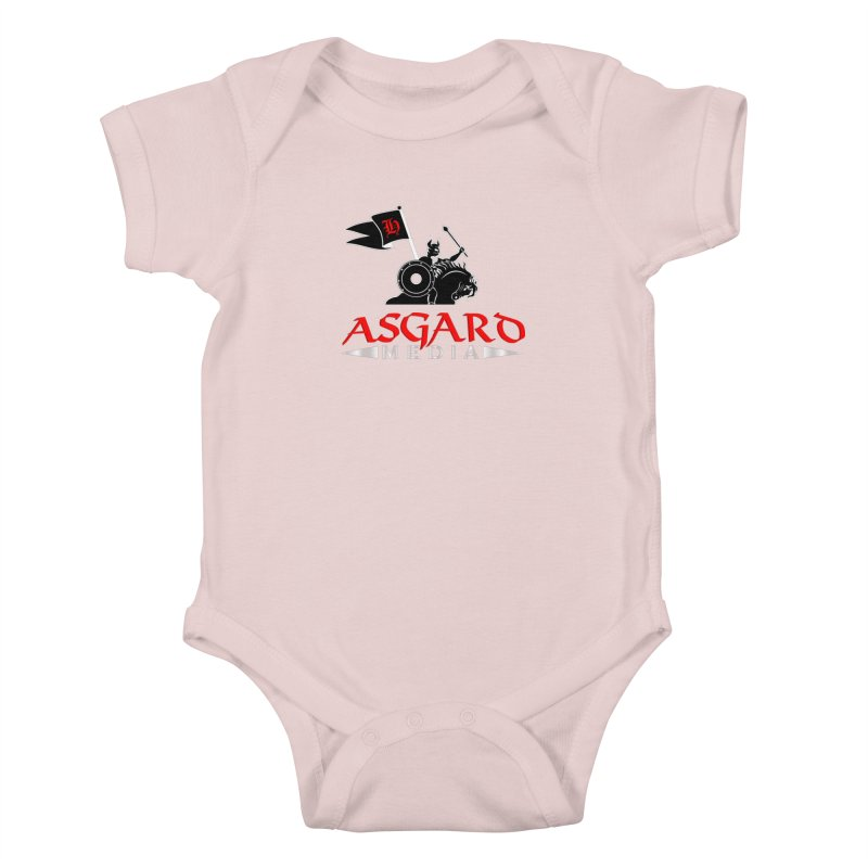 Asgard Media Kids Baby Bodysuit by Asgard Radio's Artist Shop
