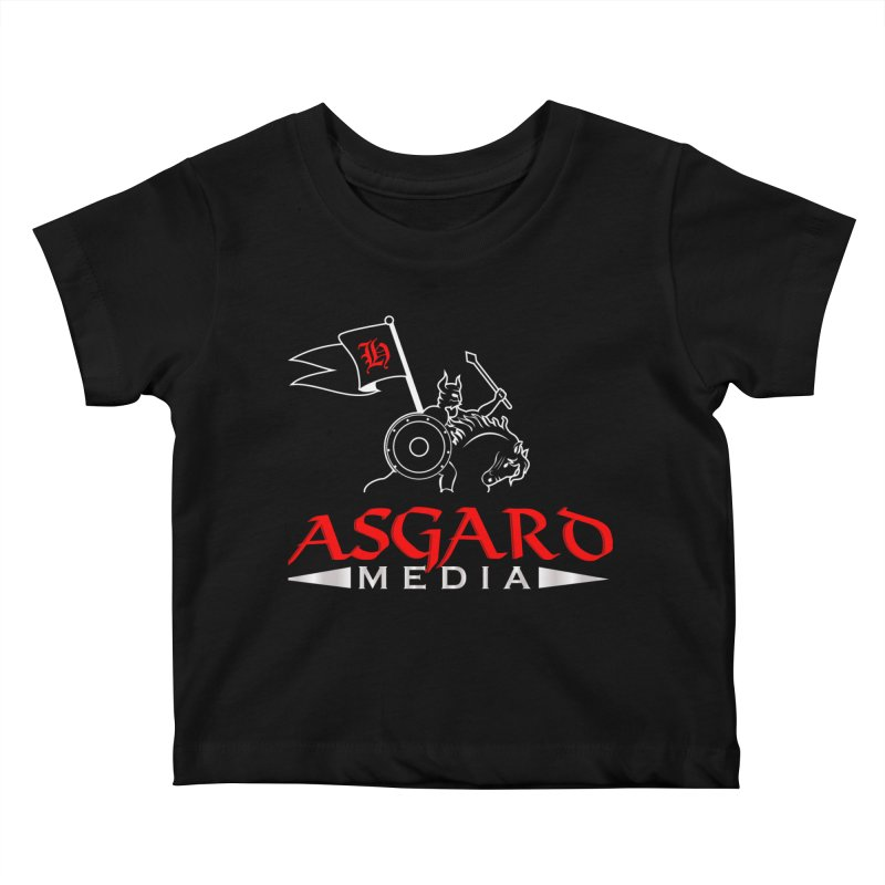 Asgard Media Kids Baby T-Shirt by Asgard Radio's Artist Shop