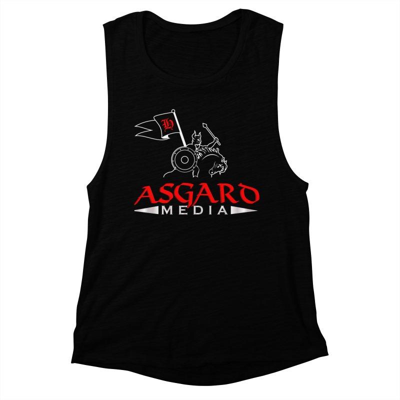 Asgard Media Women's Muscle Tank by Asgard Radio's Artist Shop