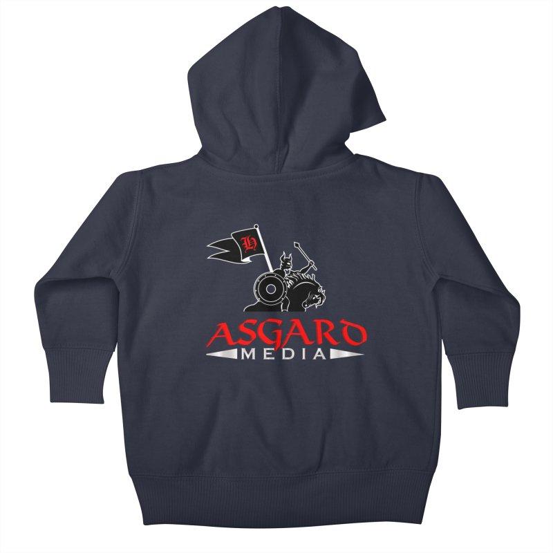 Asgard Media Kids Baby Zip-Up Hoody by Asgard Radio's Artist Shop