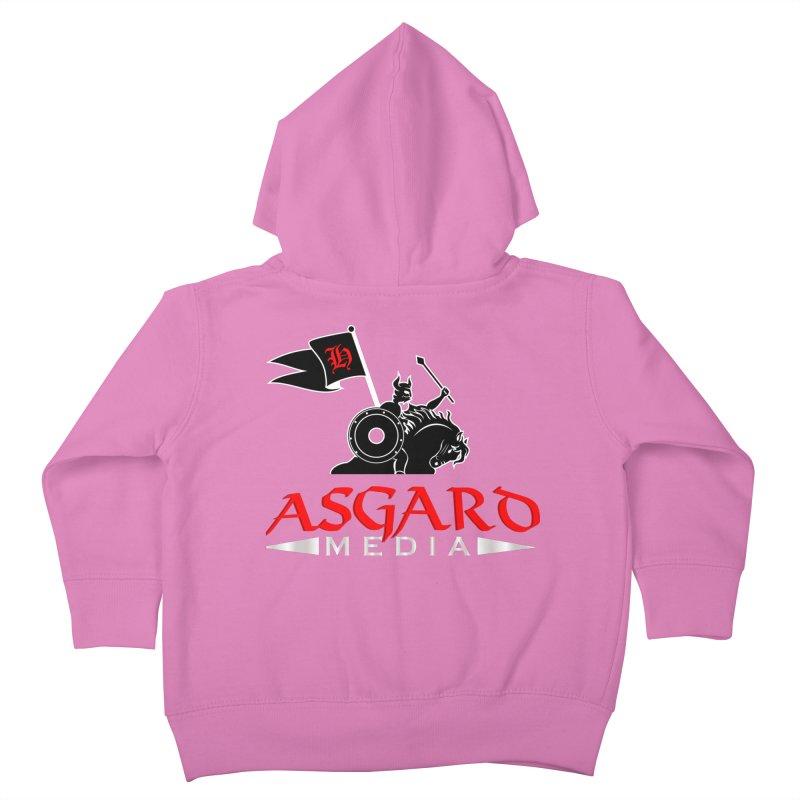 Asgard Media Kids Toddler Zip-Up Hoody by Asgard Radio's Artist Shop