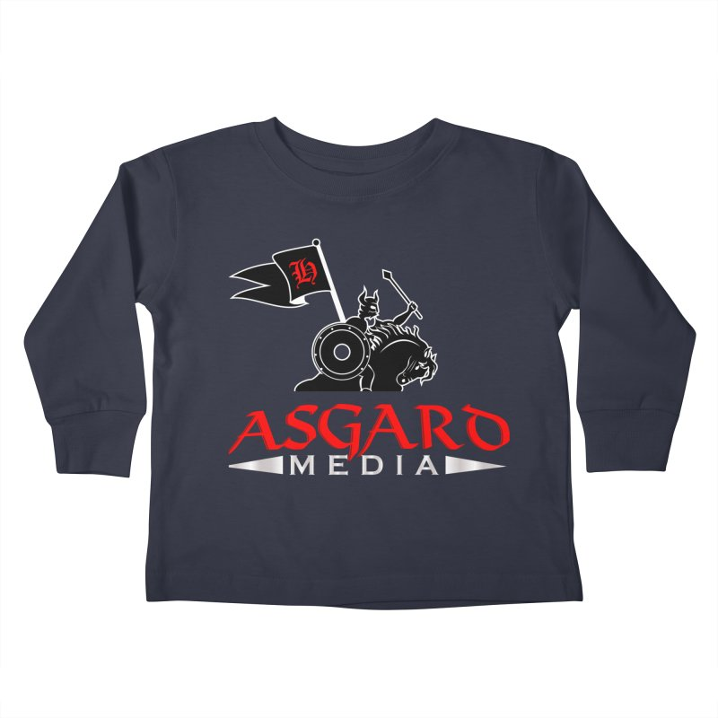 Asgard Media Kids Toddler Longsleeve T-Shirt by Asgard Radio's Artist Shop