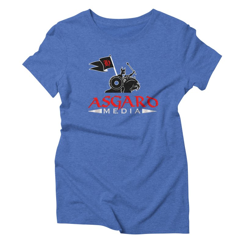 Asgard Media Women's Triblend T-Shirt by Asgard Radio's Artist Shop