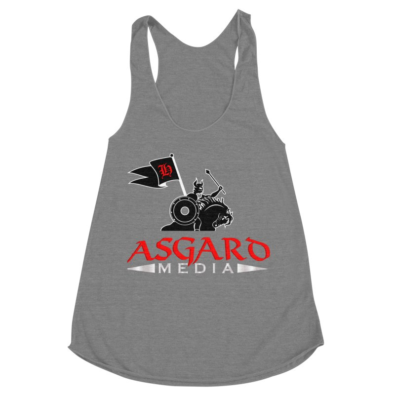 Asgard Media Women's Racerback Triblend Tank by Asgard Radio's Artist Shop