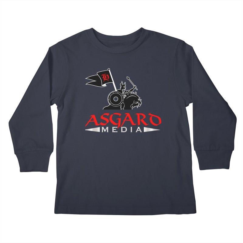 Asgard Media Kids Longsleeve T-Shirt by Asgard Radio's Artist Shop