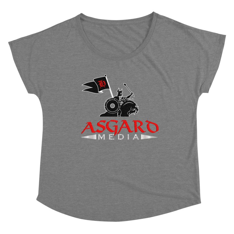 Asgard Media Women's Scoop Neck by Asgard Radio's Artist Shop