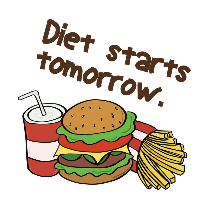 Diet starts tomorrow. by ASH