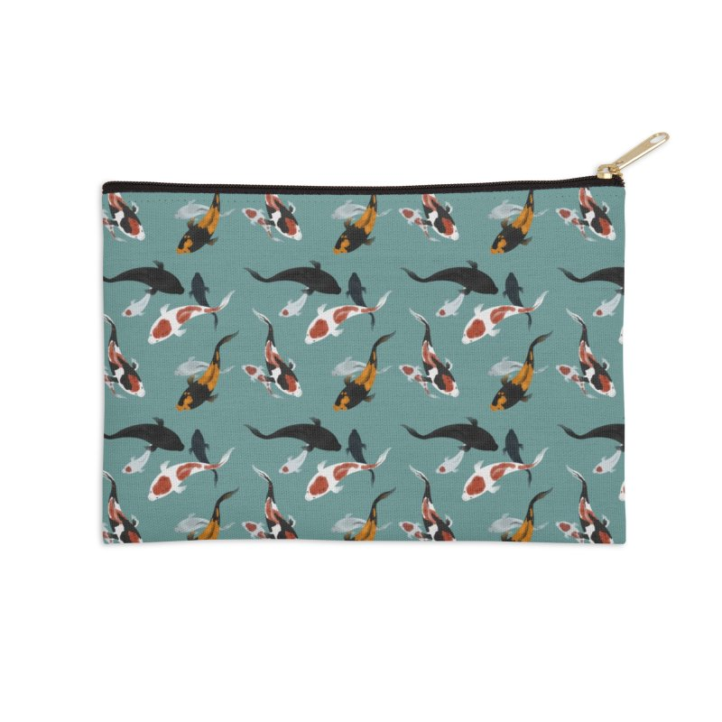 koi Accessories Zip Pouch by ART by ASHE