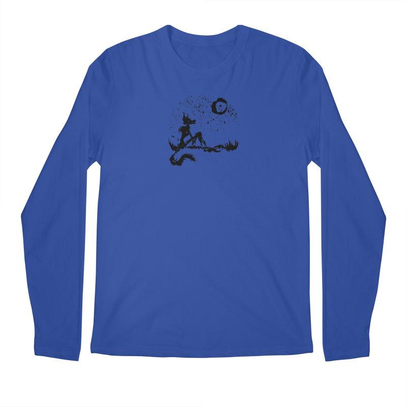 I Wish I Was The Moon Men's Longsleeve T-Shirt by ashewednesday's Artist Shop