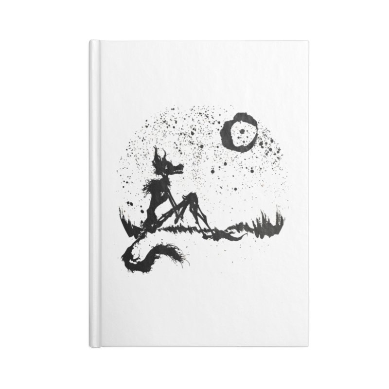 I Wish I Was The Moon Accessories Notebook by ashewednesday's Artist Shop