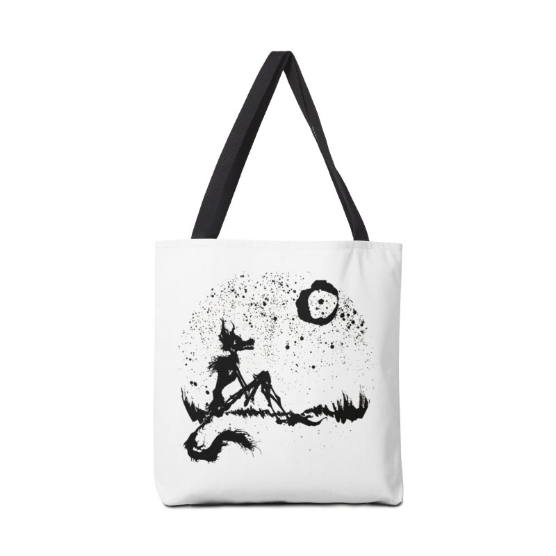 I Wish I Was The Moon Accessories Bag by ashewednesday's Artist Shop