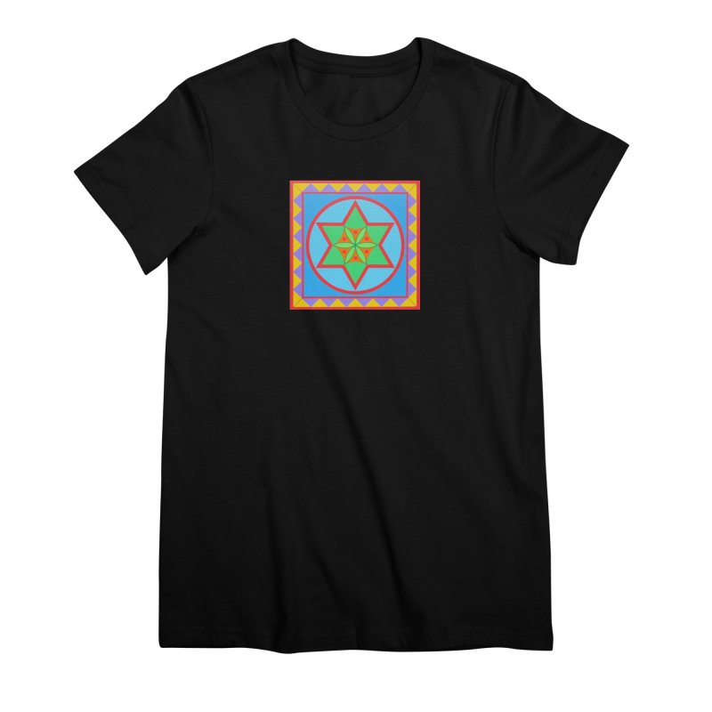 Emerging Flower Women's Premium T-Shirt by By the Ash Tree