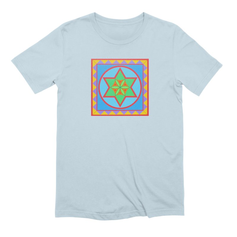 Emerging Flower Men's Extra Soft T-Shirt by By the Ash Tree