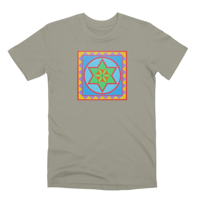 Emerging Flower Men's Premium T-Shirt by By the Ash Tree