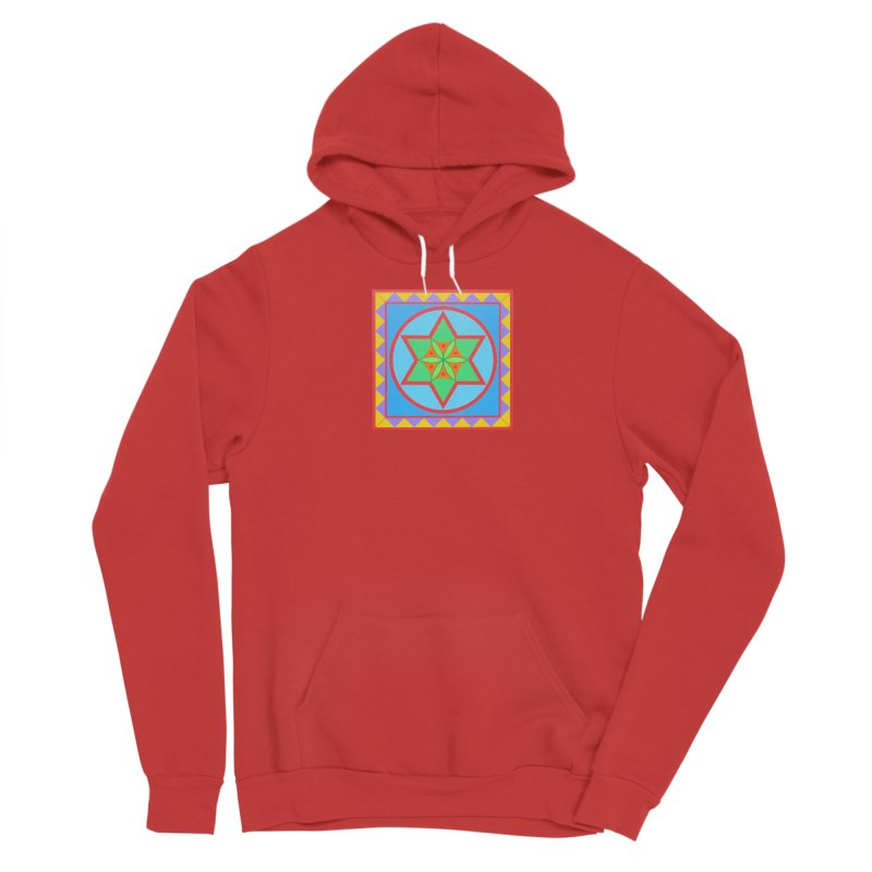 Emerging Flower Men's Pullover Hoody by By the Ash Tree