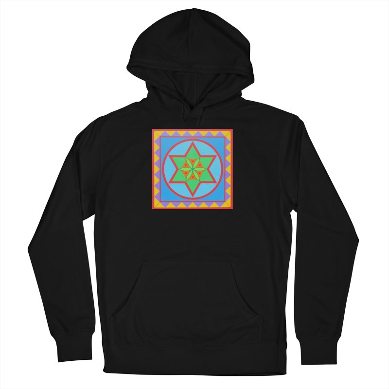 Emerging Flower Women's French Terry Pullover Hoody by By the Ash Tree