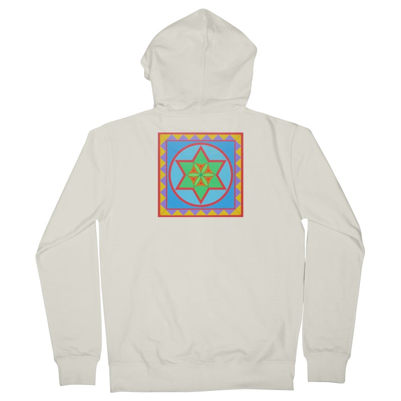 Emerging Flower Women's French Terry Zip-Up Hoody by By the Ash Tree