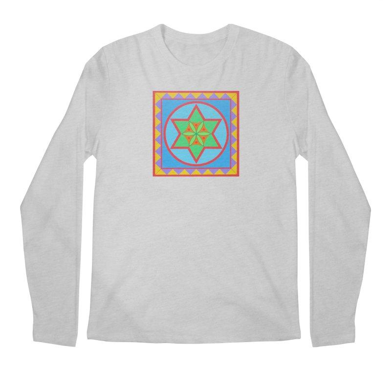 Emerging Flower Men's Regular Longsleeve T-Shirt by By the Ash Tree