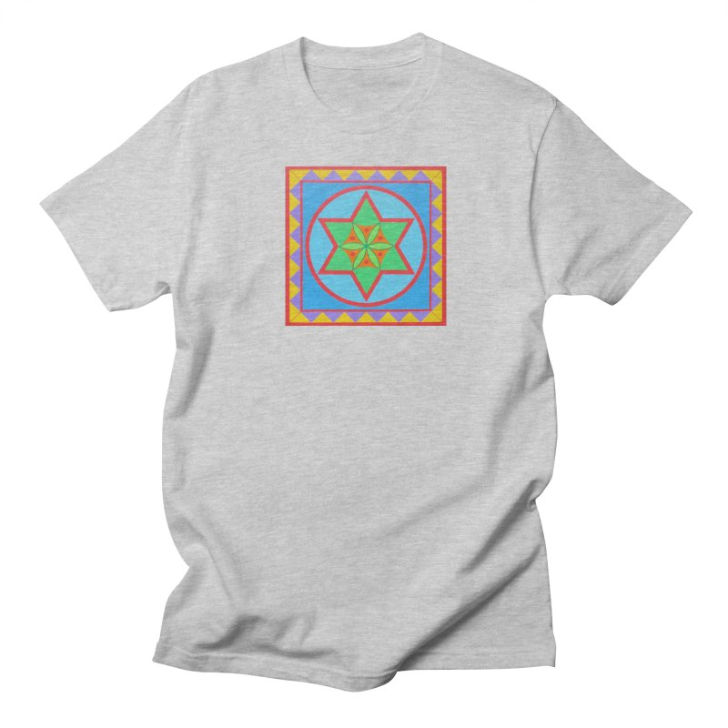 Emerging Flower Men's Regular T-Shirt by By the Ash Tree